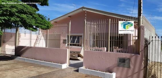 Casa Para Venda Em Tatuí, Nova Tatui, 3 Dormitórios, 1 Suíte, 2 Banheiros, 3 Vagas - 351_1-1086695