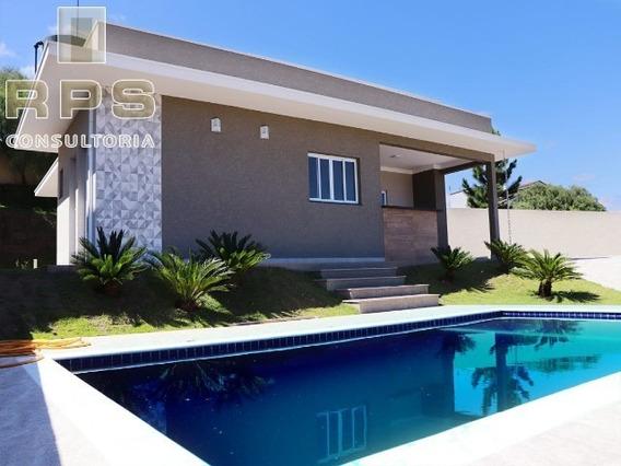 Casa Em Condomínio Para Venda Em Atibaia Casa Nova - Condomínio Serra Da Estrela -atibaia/sp. - Cc00420 - 34978853