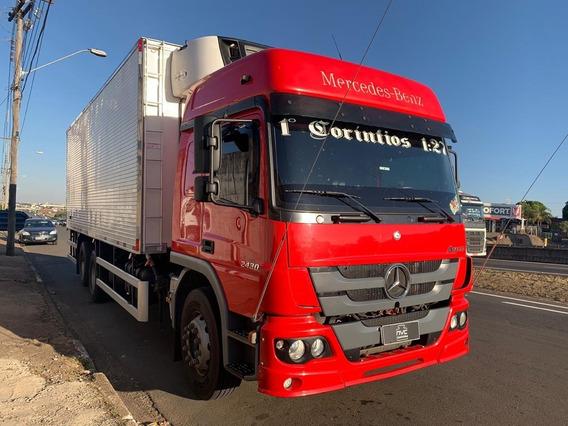 Mercedes Benz Mb Atego 2430 Truck 6x2 Baú Frigorifico = Vw