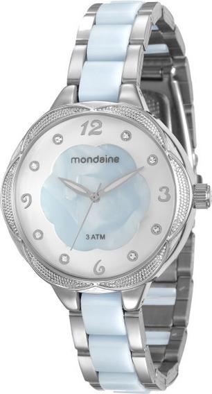 Relógio Feminino Mondaine Prata 76671l0mvne1 Garantia C/ Nfe