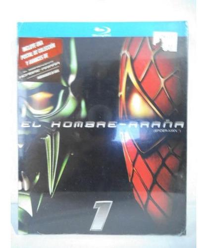 El Hombre Araña Spiderman Blu Ray Disc