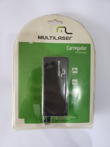 Fonte Para Notebook Cb010 Multilaser Universal 65w - Novo