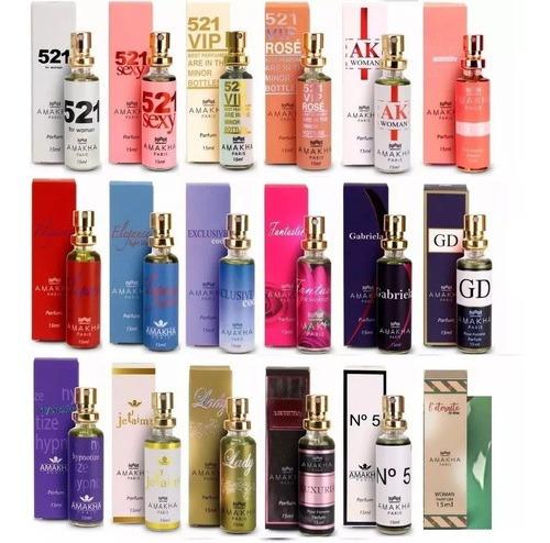 15 Perfumes Amakha Paris - Inspiração Nos Importados