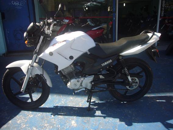Yamaha Ybr 125 Factor Ed 2014 Branca R$ 6.500 Troca