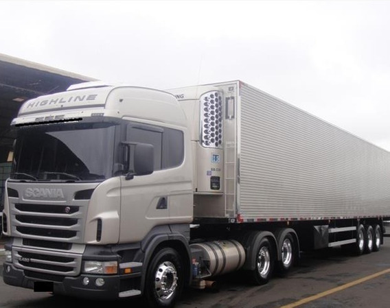 Scania R440 6x4 2018 Câmara Frigorífica 28 Pallets