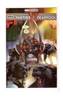 Black Panther Vs Deadpool # 4 - Editorial Televisa