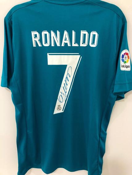 Camisa Real Madrid Autografada Cristiano Ronaldo