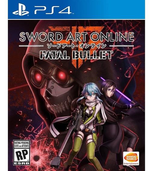 Sword Art Online: Fatal Bullet Ps4 Mídia Física Lacrado