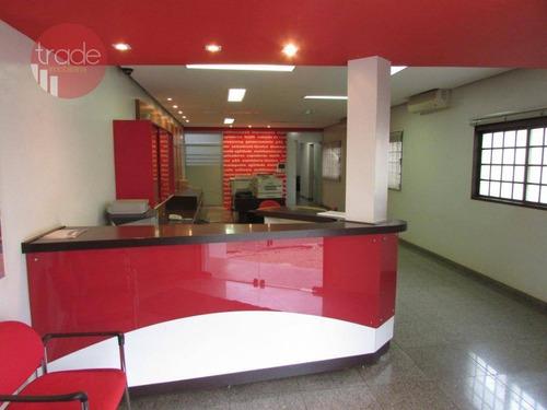 Imagem 1 de 26 de Ponto Para Alugar, 500 M² Por R$ 13.000,00/mês - Centro - Ribeirão Preto/sp - Pt0035