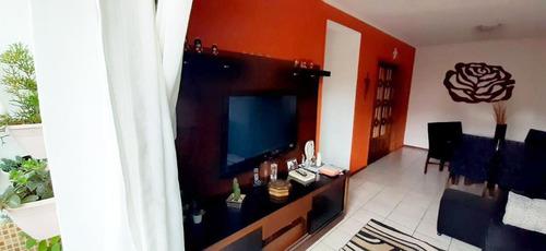 Apartamento Em Jardim Guapituba, Mauá/sp De 95m² 2 Quartos À Venda Por R$ 375.000,00 - Ap718584