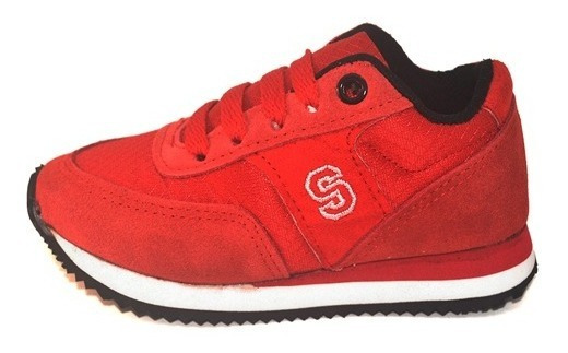 Zapatilla Deportiva Rojo Small Shoes