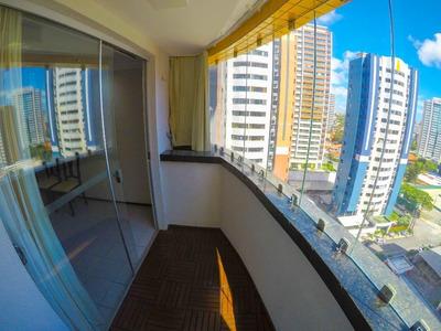 Apartamento Em Guararapes, Fortaleza/ce De 91m² 3 Quartos Para Locação R$ 1.200,00/mes - Ap198221