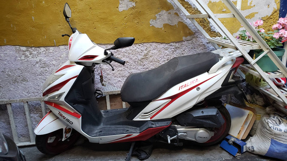 Italika Trn 150 Blanco Y Rojo