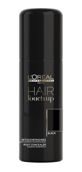 Retocador Temporal Raíces Hair Touch Up Negro 75ml L
