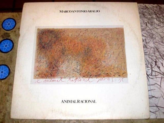 Lp Marco Antonio Araujo - Animal Racional (1984) C/ Encarte