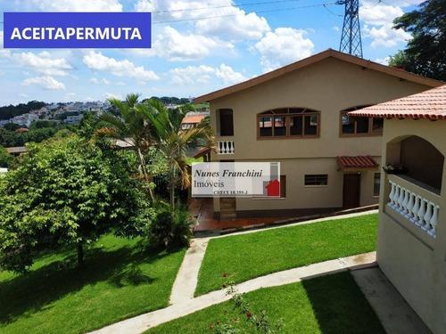 Chácara Com 6 Dormitórios À Venda, 2200 M² Por R$ 1.200.000 - Jardim Scala - Jundiaí/sp - Aceita Permuta - Ch0018