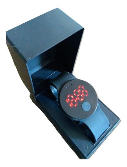 Relógio Unissex Esportivo Watch Digital Preto Led Promoção