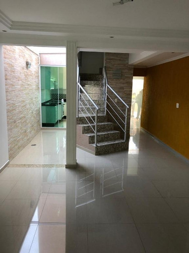 Imagem 1 de 18 de Sobrado À Venda, 187 M² Por R$ 790.000,01 - Jardim Paraíso - Santo André/sp - So0749