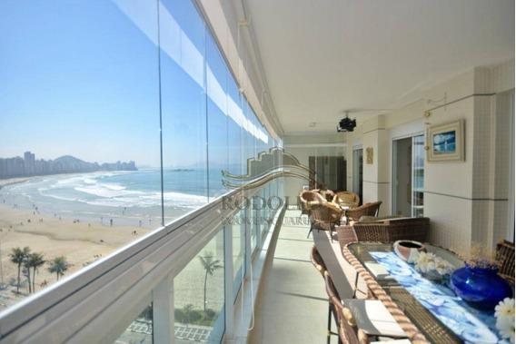 Apartamento Ed Oceano À Venda, 98 M² Por R$ 1.200.000 - Praia Das Astúrias - Guarujá/sp - Ap1106