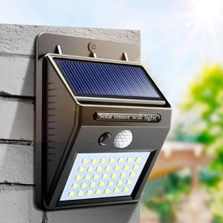 Lampara Led Arbotante Solar Exterior 150 Lm