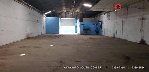 Galpão À Venda, 415 M² Por R$ 1.500.000,00 - Vila Nova Manchester - São Paulo/sp - Ga0070