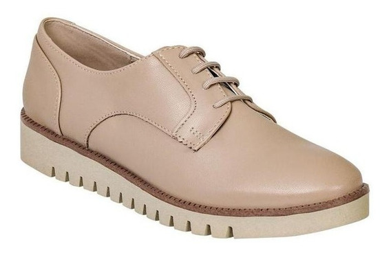 Zapato Cerrado Caramel Mujer Beige Tipo Napa 602