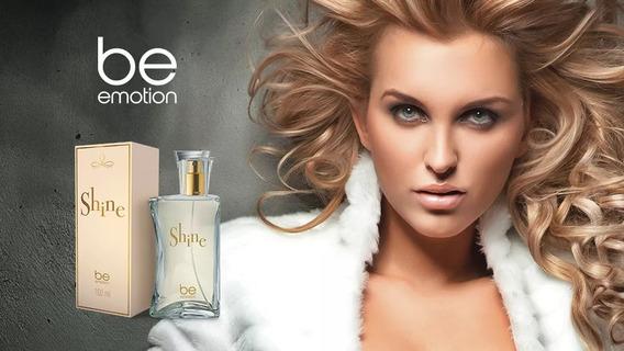 Perfume Shine Be Emotion - Para Elas 100ml