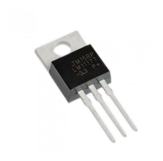 10 Unidades Lm1117 Regulador De Tensão -3.3v To-220 Arduino