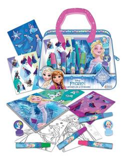 Carterita Arte Marcadores Actividades Disney Store Frozen