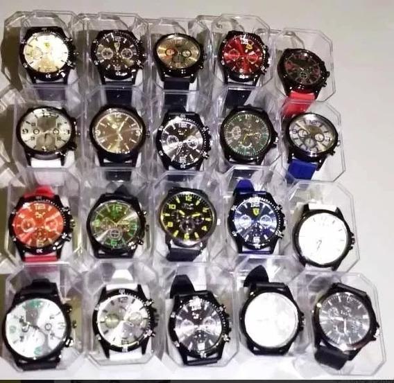 Promoção 15 Relógios Masculino Atacado Revenda + Caixa