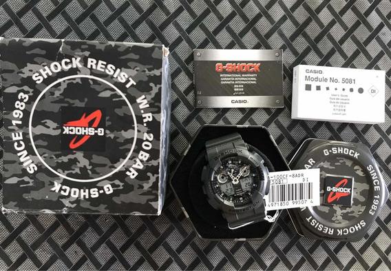 Relógio G-shock Camuflado-100cf/5081 (novo)