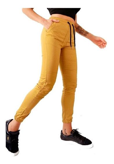 Pantalon Babucha Ferrer Gabardina Elastiza | Inversa (4231)