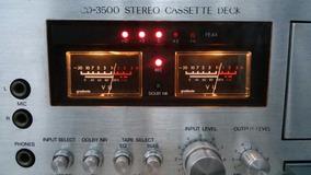 #1 Tape Deck Gradiente Cd3500 Toca Fitas K7 Restaurado 100%