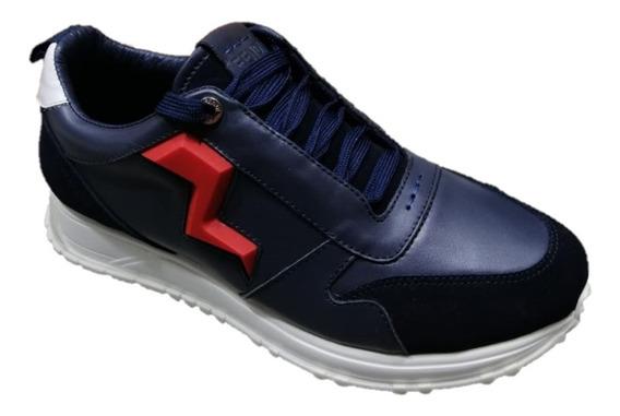 Tenis Sneakers Fendi Rayo Blue, Envío Gratis