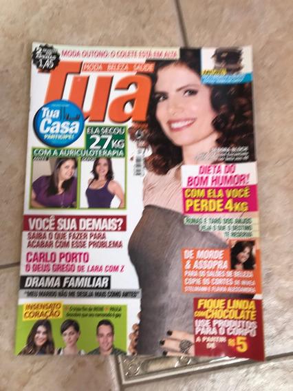 Revista Tua 30 Débora Bloch Carlo Porto
