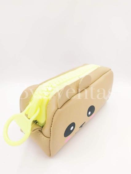 Cartuchera Escolar Porta Cosmeticos Panda Cierre Grande Moda