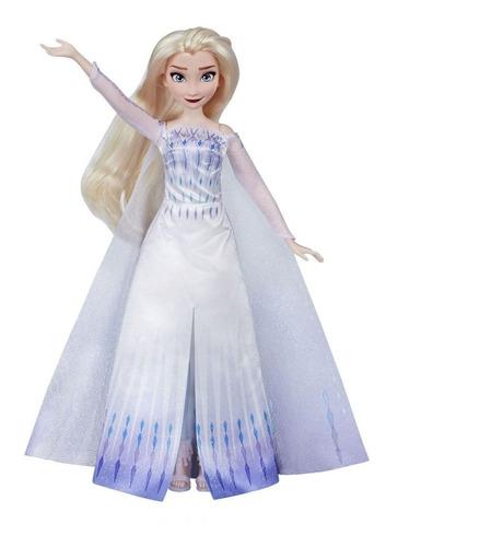 Frozen Muñeca Musical Cantante Elsa