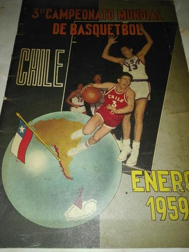 Revista Del Tercer Mundial De Basket
