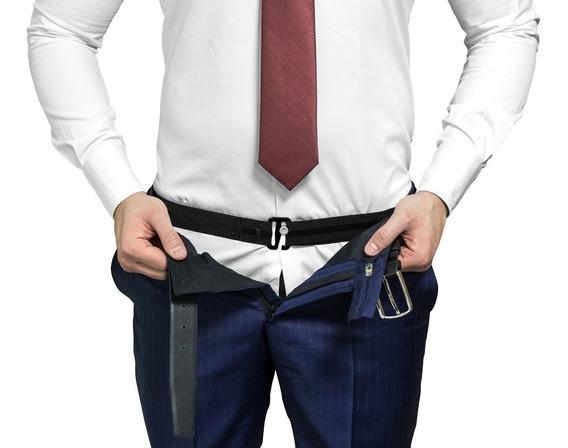 Ajustadores Sujetadores Unisex Camisas Tirantes De Vestir