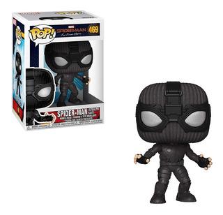 Funko Pop Marvel #469 Spiderman Farfromhome Stealth Nortoys