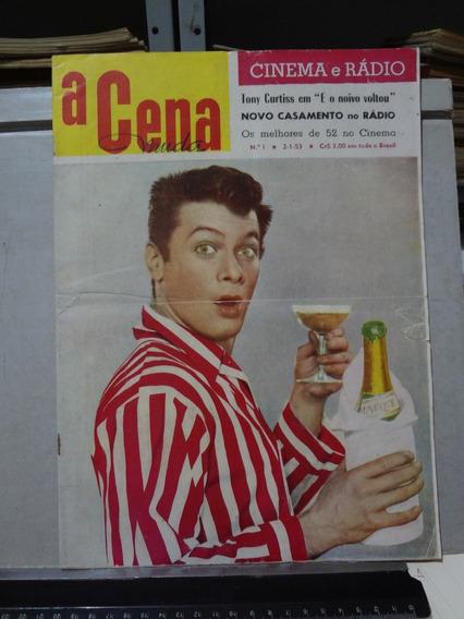 Revista A Cena Muda Nº 1 1953 Tony Curtis