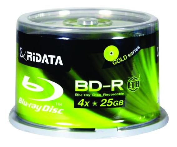 Mídia Blu-ray Ridata 25gb - 50 Unidades