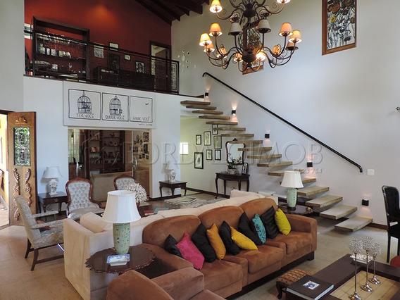 Park Way, Casa Com 866m², 6 Quartos, 3 Suítes, Mobiliada. - Villa117630