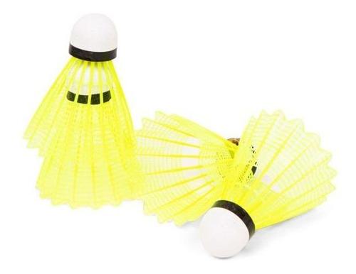 Peteca Badminton Vollo Tubo Com 6 Unidades