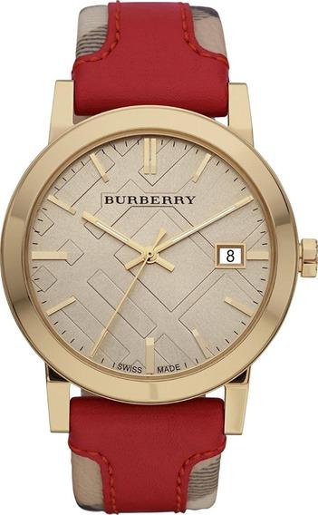 Reloj Burberry Mujer Clásico Bu9017 Original Importado