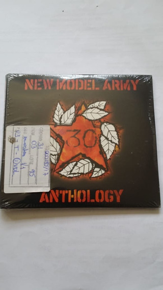 Cd New Model Army Anthology Box Set Com Nfe - Lacrado-