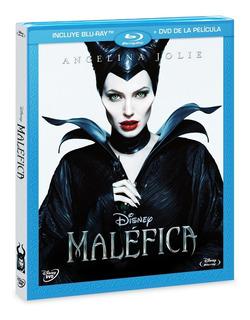 Combo Blu Ray + Dvd Malefica