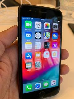 iPhone 7 Usado 128gb Jet Black Semi Novo