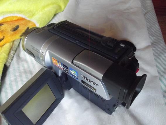 Filmadora Digital8mm Sony Vision Dcr Trv140 100%