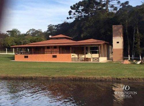 Chácara Com 4 Dormitórios À Venda, 22620 M² Por R$ 2.350.000,00 - Campina Do Taquaral - São José Dos Pinhais/pr - Ch0057